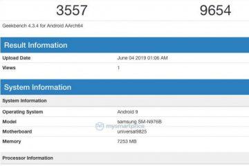 ตามสูตร! เผยผลทดสอบ Samsung Galaxy Note 10 บน Geekbench