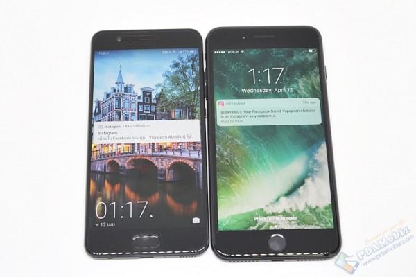 รีวิว Huawei P10 Plus สีดำ 029