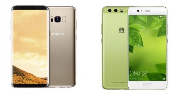 เปรียบเทียบ Samsung Galaxy S8
