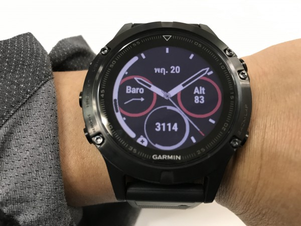 Garmin Fenix 5 and samsung