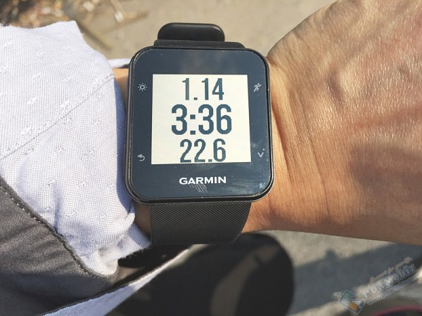 Garmin Forerunner 35 review 074