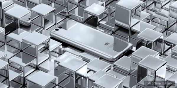Xiaomi Mi 6 - silver edition 2