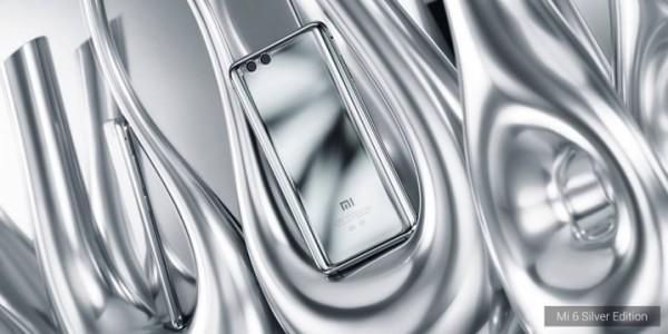 Xiaomi Mi 6 - silver edition