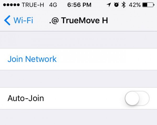 True Wi-Fi auto join