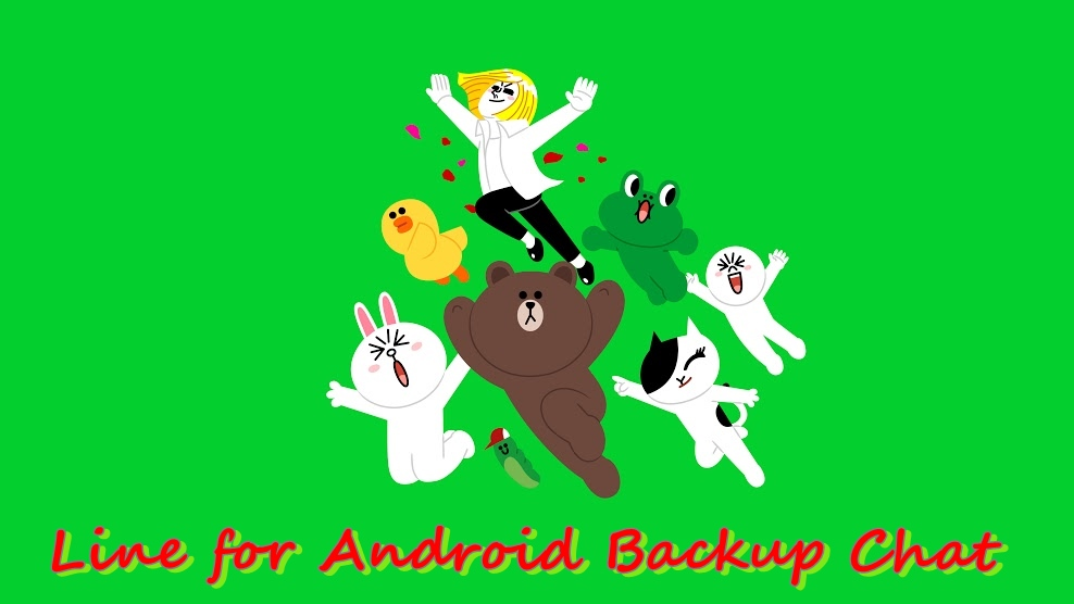 line back up and restore chat android