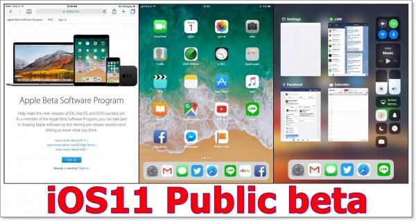 iOS11-Public-beta