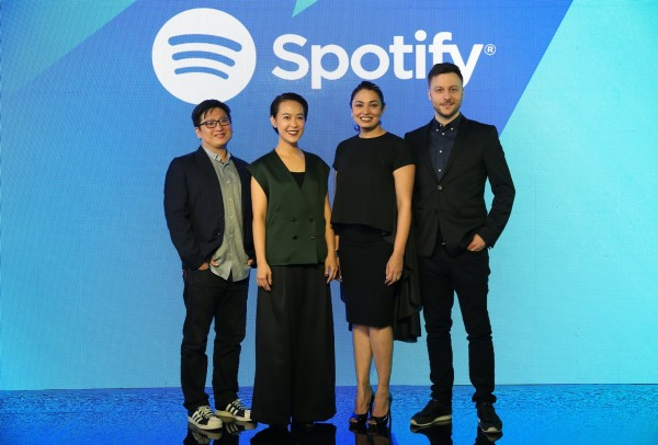 Spotify Launch Press Conference