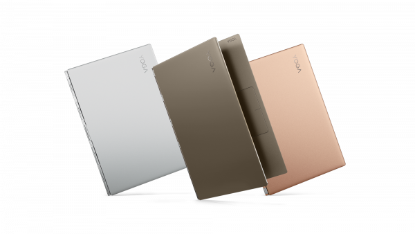 Yoga 920 in 3 bold color options