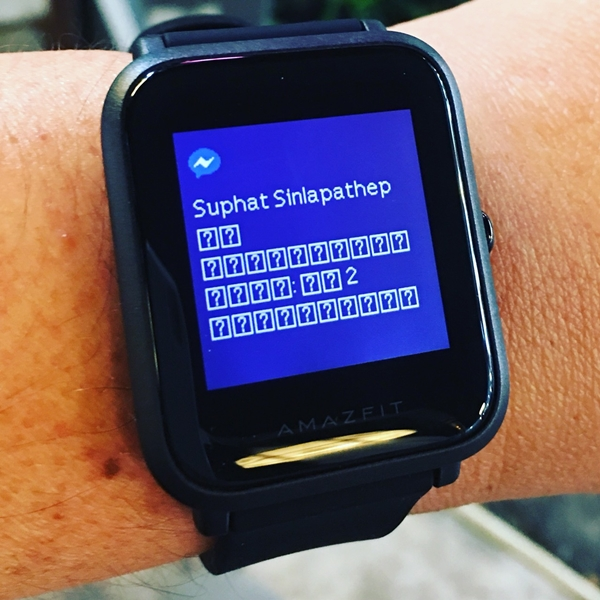 รีวิว Xiaomi Huami Amazfit Bip Smartwatch Chinese Version