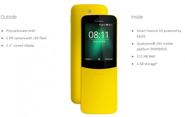 ผลการค้นหารูปภาพสำหรับ Nokia 8110 4G