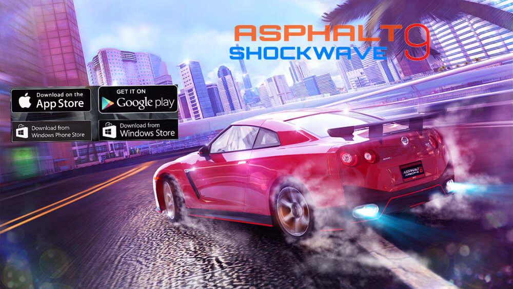 Asphalt 9 android play store